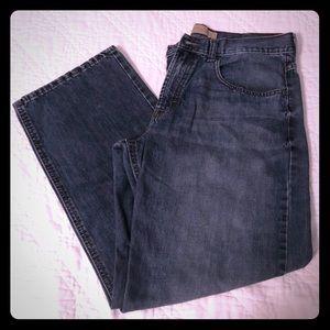 Wrangler loose straight jeans 34X30
